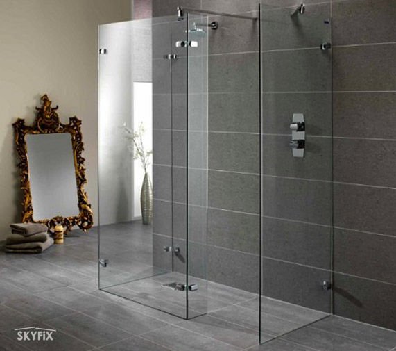 Skyfix Co Ltd Walk In Shower Enclosures Screen